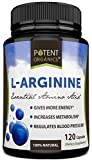 L-Arginine With Added Niacin And L-Citrulline - Potent Nitric Oxide (NO) Formulation - 120 Vegetarian Capsules - For Muscle, Heart and Libido!