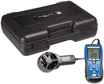 SPX Industrial TIF3220 Thermo-Anemometer and IR Thermometer, LCD