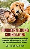 Hundeerziehung Grundlagen: Alles, was frischgebackene oder zuk�nftige Hundehalter wissen m�ssen, um ein Leben lang Spa� an ihrem Vierbeiner zu haben