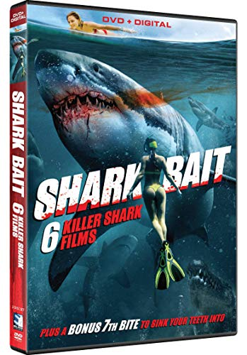 DVD : Shark Bait: 7 Fin-tastic Films (2 Discos)
