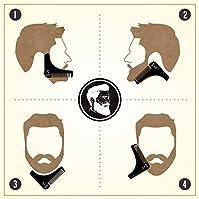#2: BEARDO Beard Shaping and Styling Tool Comb