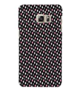 Brownish Pink Dotted 3D Hard Polycarbonate Designer Back Case Cover for Samsung Galaxy Note 7 : Samsung Galaxy Note 7 N930G : Samsung Galaxy Note 7 Duos