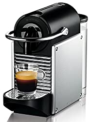 DeLonghi Nespresso 40029863 Pixie Silver Coffee Machine