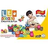 LEO BRICKS - New 101 Piece Set