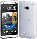 Cimo HTC One Case Grip Premium Flexible TPU Cover for HTC One (2013) - Frosted Clear