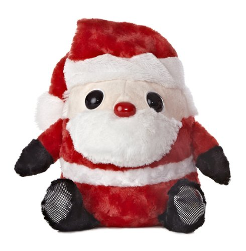 "Aurora World Snowball Santa Plush Toy, 6.5"" - 1"