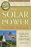 img - for How to Solar Power Your Home: Everything You Need to Know Explained Simply (Back to Basics) book / textbook / text book