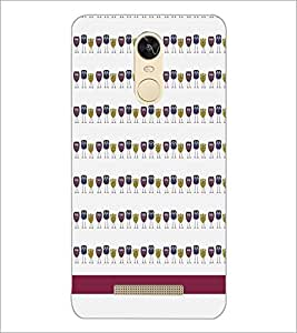 PrintDhaba Owl pattern D-1840 Back Case Cover for XIAOMI REDMI NOTE 3 (Multi-Coloured)