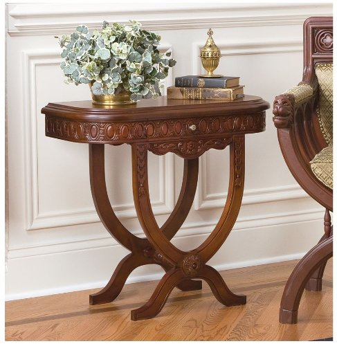 Cheap Medieval Cross Frame Console Table (B005EIX1ZY)