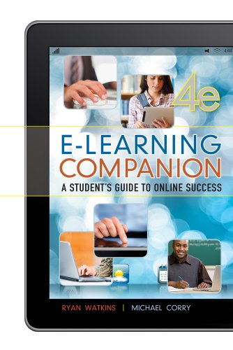E-Learning Companion Student s Guide to Online Success113349594X