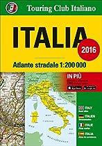 Italy atlas - atlante stradale 2016 tci (r)