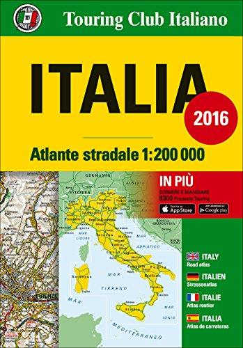Atlante stradale Italia 1200000 Ediz italiana inglese francese tedesca e spagnola PDF