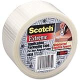 Scotch Bi-Directional Filament Tape 8959 Transparent, 50 mm x 50 m (Pack of 1)
