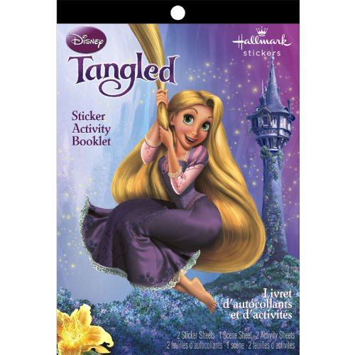 Sticker Activity Booklets Tangled Booklet - 1