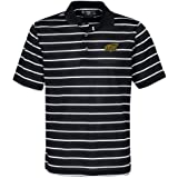 NCAA Wichita State Shockers Men's Pebble Texture Golf Polo, Black/White, Large