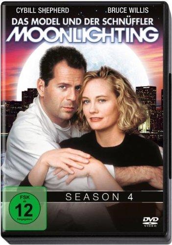 Moonlighting - Das Model und der Schnüffler, Season 4 [4 DVDs]