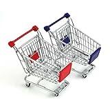 HitPlay Metal Mini Shopping Cart - ( Red )