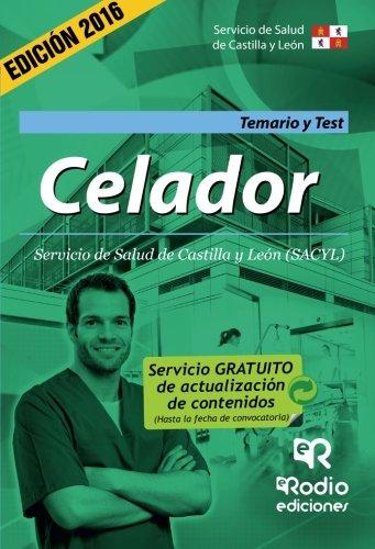 Celador. Temario y Test. Servicio de Salud de Castilla y León (OPOSICIONES)
