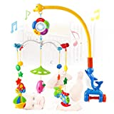 Wishtime 赤ちゃん おやすみメリー 0歳から ベッドメリー 幼児 モビール おもちゃ 音楽 知育玩具
