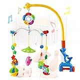 Wishtime 赤ちゃん おやすみメリー 0歳から ベッドメリー 幼児 モビール おもちゃ 音楽 知育玩具 ランキングお取り寄せ