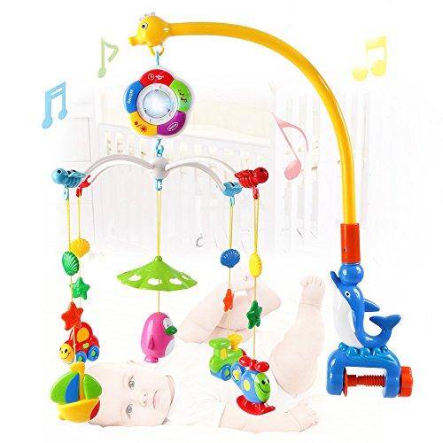 Fumetto del Mobile musicale bambino appeso sonagli e massaggiagengive giocattoli di Beby