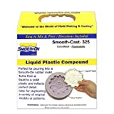 Smooth-On Smooth-Cast 325 ColorMatch Liquid Plastic Compound Smooth Cast 325 - Ages 18+ (Color: Clear Amber, Tamaño: 2 lb. kit)