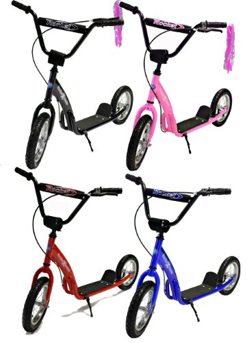 Rocket Xtreme Kids Retro BMX Scooter (Red)