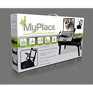 My Place Myplace Laptop Table Notebook Workstation