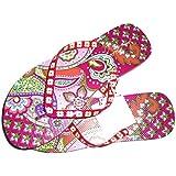 Vera Bradley Flip Flops Pink Swirls