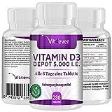 Vitamin D3 Depot 5.000 I.E. - 280 Tabletten - 1000