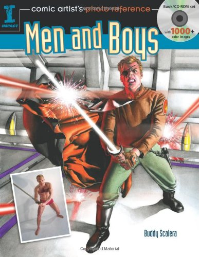 Comic Artist's Photo Reference: Men and Boys