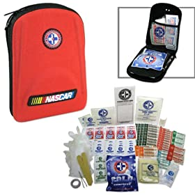 Outdoor Series - NASCAR 125-Piece First Aid Kit - OSHA Certified for Home, Travel, Outdoor, Hiking, Back Packing Fishing and more!
