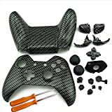 YTTL® XBOX One Custom Hydro Dipped Black Sliver Replacement Housing Shell Cases Kits with Buttons For XBOX ONE Wireless Controller