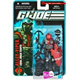 "Hasbro G.I. Joe Mission ""The Pursuit of Cobra - City Strike"" Series 4 Inch Tall Action Figure - Cobra Urban Trooper ALLEY-VIPER with Gas Mask, Red Helmet with Visor, Black Helmet with Goggles, 2 Assault Rifles, Anti-Armor Weapon, Blast Shields, Assault Tonfas and Display Stand"