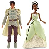 Disney The Princess and the Frog Prince Naveen Doll and Princess Tiana Doll - 12 H