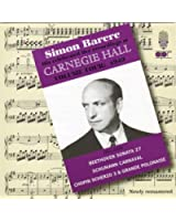 Simon Barere at Carnegie Hall (1949)