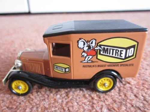 1983-lledo-models-of-days-gone-mitre-10-advertising-diecast-rare