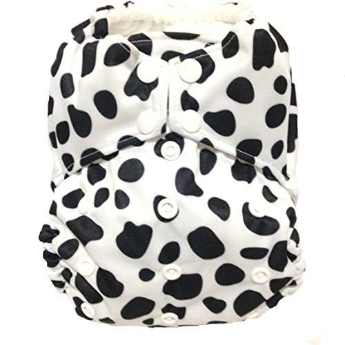 "All In One (AIO) Cloth Diaper ""Dalmation"""