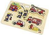 Goki 57907  - Plug fuego Puzzle