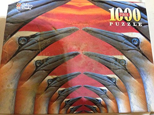 1000 Piece Puzzle - Gannet Arches at Sunset - 1