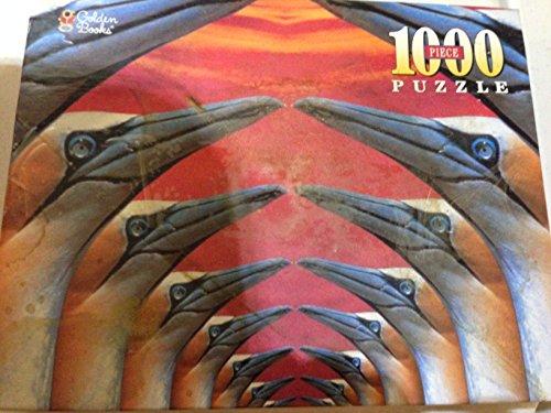 1000 Piece Puzzle - Gannet Arches at Sunset - 1