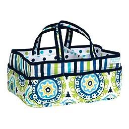 Trend Lab Waverly Solar Flair Diaper Caddy, Blue by Trend Lab