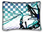 Unique Standard Size PillowCase Design Anime Black Rock Shooter - 20x26 One Side