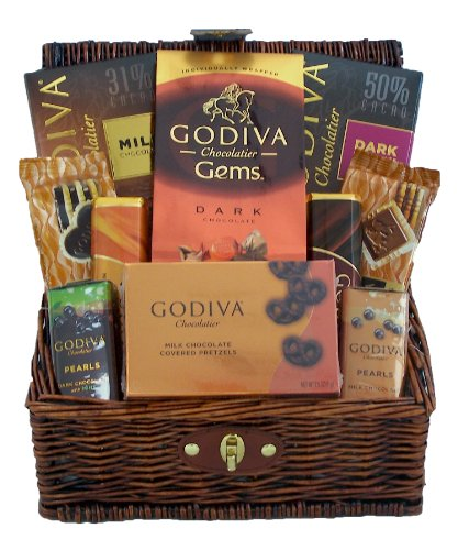 Godiva Chocolates Lovers Gourmet Holiday Gift