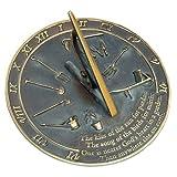 Rome RM2307 Brass Sundial