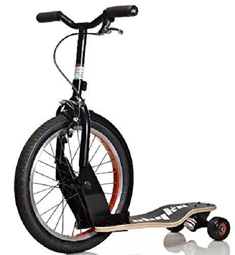 Sbyke Rear Steering Kids Skateboard Kick Scooter Balance Bike