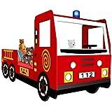 Feuerwehrbett inkl. Lattenrost Deuba thumbnail