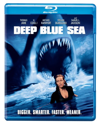 Cover art for  Deep Blue Sea [Blu-ray]