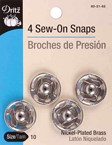 Why Should You Buy Dritz(R) Sew-On Snaps (Size 10) - Nickel
