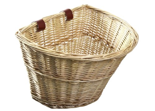 Read About ProSource Wicker Front Handlebar Bike Basket